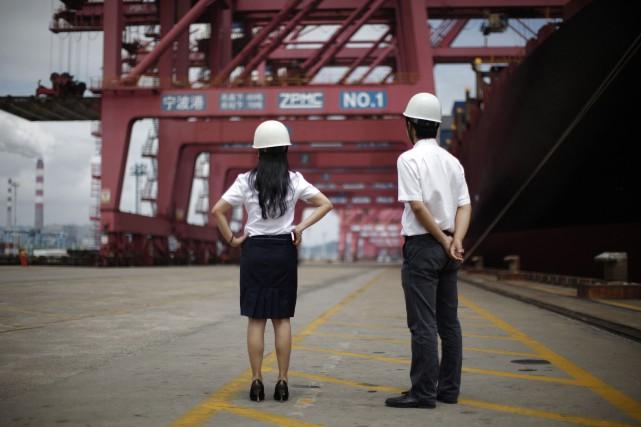La Chine, la Russie et le Brésil, trois... (Photo Carlos Barria, Reuters)