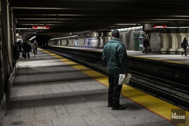 La station de métro Langelier où Radil Hebrich... (PHOTO OLIVIER PONTBRIAND, ARCHIVES LA PRESSE)