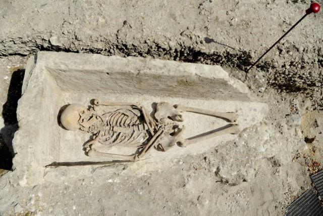 Les archéologues espèrent faire de nouvelles découvertes dans... (PHOTO THOMAS OLIVA, AFP)