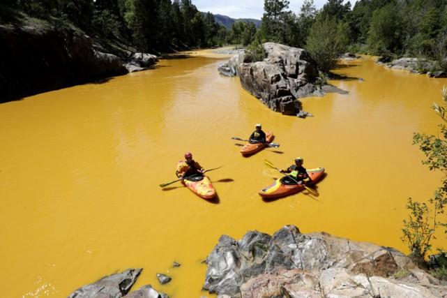 Dans le Colorado (photo), au Nouveau Mexique et... (PHOTO AP)