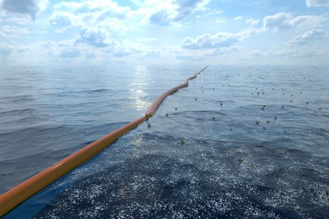 The Ocean Cleanup espère mettre à l'essai une... (PHOTO AP)