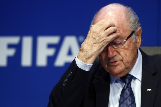 Sepp Blatter... (PHOTO ARCHIVES REUTERS)