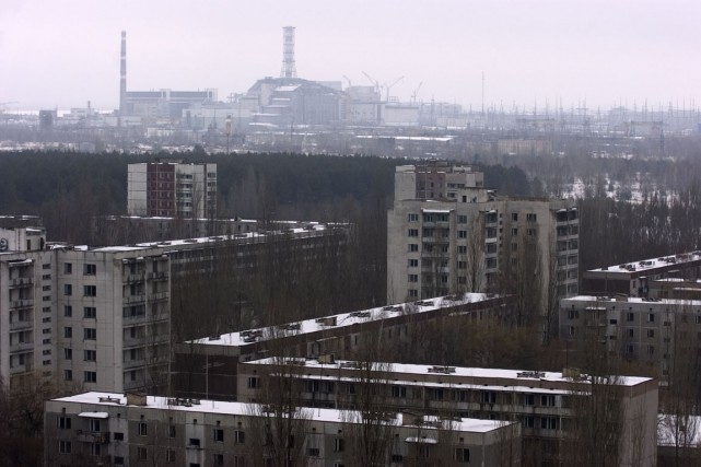 La catastrophe de Tchernobyl qui a forcé tous... (Photo Alain Roberge, archives La Presse)