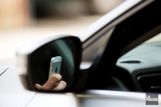 Une automobiliste est parvenue à faire annuler la... (PHOTO OLIVIER JEAN, LA PRESSE)