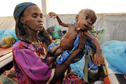 La malnutrition affecte toujours 156 millions d'enfants de... (Photo archives AFP)
