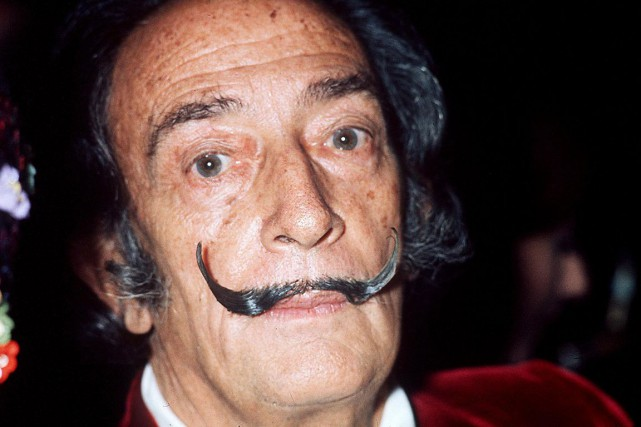 Salvador Dali... (PHOTO ARCHIVES AFP)