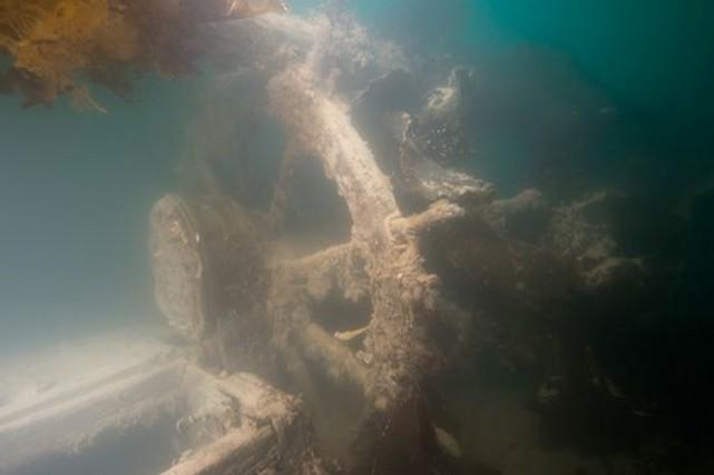 Au fil de trois plongées, les spécialistes de... (PHOTO FOURNIE PAR PARCS CANADA)