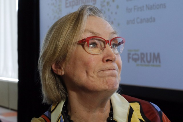 La ministre des Affaires autochtones du Canada, Carolyn Bennett... (PHOTO ARCHIVES LA PRESSE CANADIENNE)