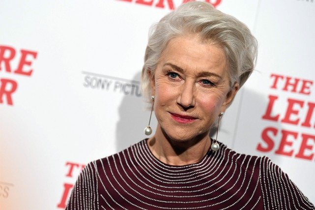 L'actrice Helen Mirren... (PHOTO ANGELA WEISS, Agence France-Presse)