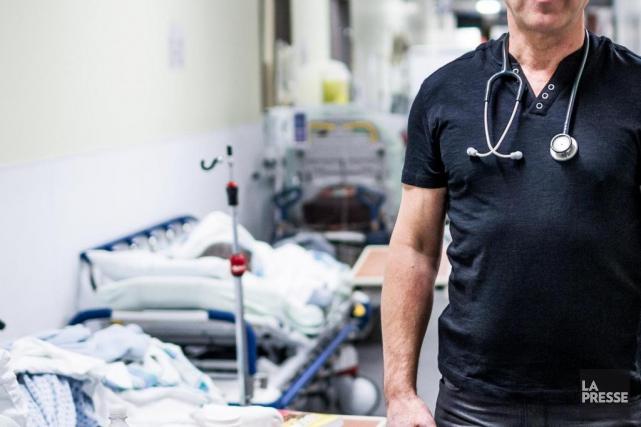 Médecins québécois pour le régime publicréclame que le... (PHOTO OLIVIER PONTBRIAND, ARCHIVES LA PRESSE)