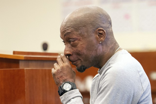 Dewayne Johnson, le plaignant dans le procès qui... (Photo Josh Edelson, Associated Press)