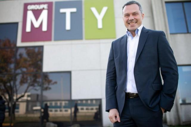 Éric Lefebvre,chef de la direction de MTY... (PHOTO DAVID BOILY, ARCHIVES LA PRESSE)