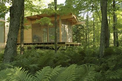 Les Maisons Nature De Pierre Thibault Lucie Lavigne