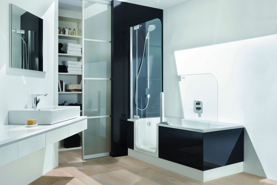 une salle de bain qui accroche l oeil