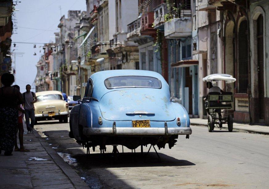 Cuba Et Ses Almendrones Cyberpresse