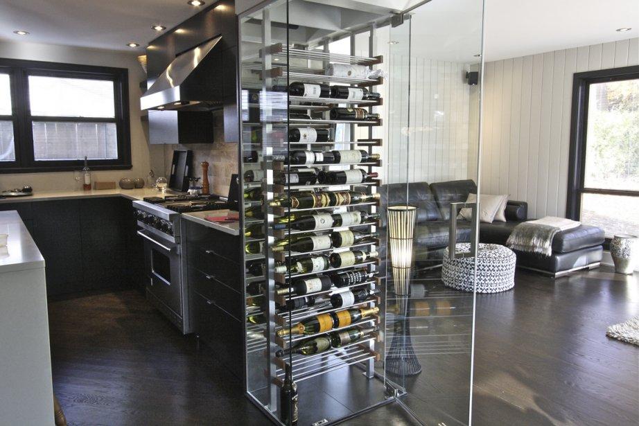 le vin au temps des celliers de verre
