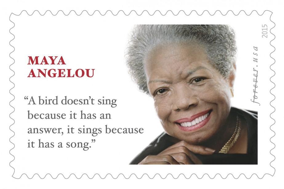 Mauvaise citation pour un timbre hommage à Maya Angelou