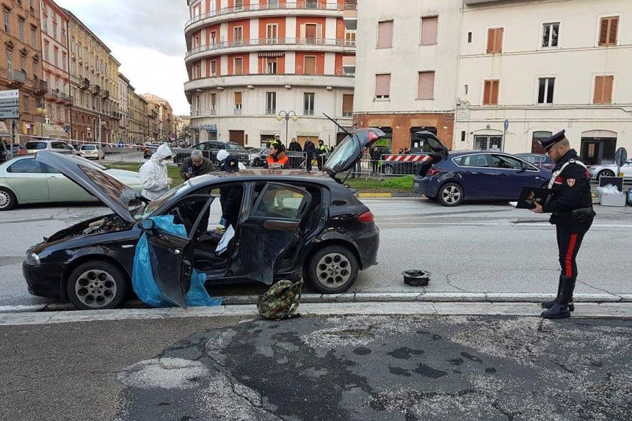 ITALY-SHOOTING/MACERATA