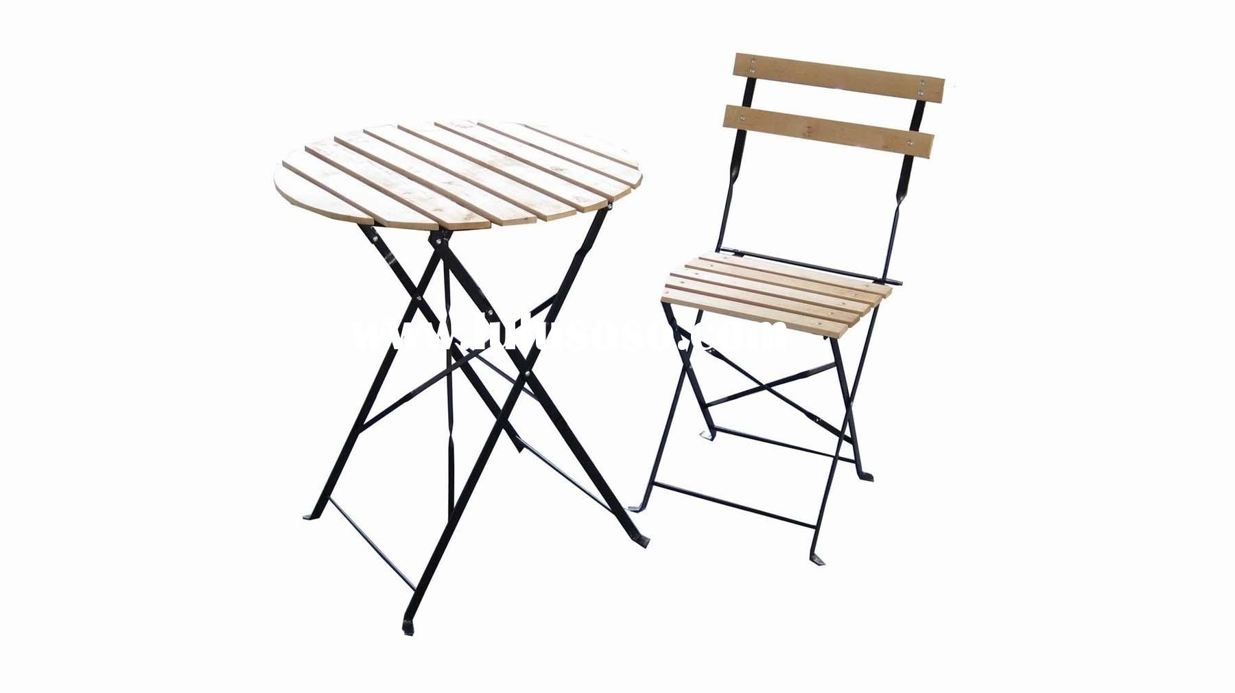 Wooden Patio Cooler Table For Sale