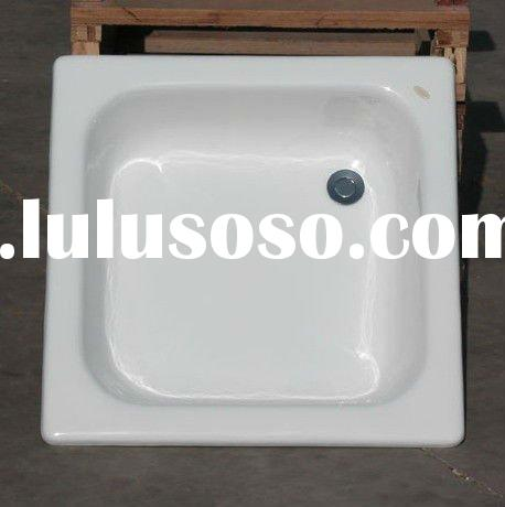 Freestanding Clawfoot Cast Iron Shower Tray For Sale