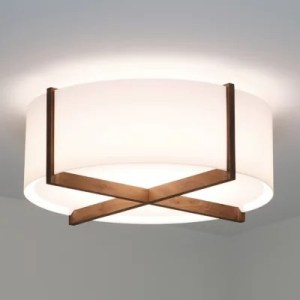 Flush Mount Bathroom Lighting   Bathroom Flushmounts at Lumens com Plura Flushmount