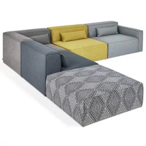 Modern Sofas   Contemporary Sofas   Chaise Lounge Chairs at Lumens com Mix Modular 5 Piece Sectional Sofa Collection