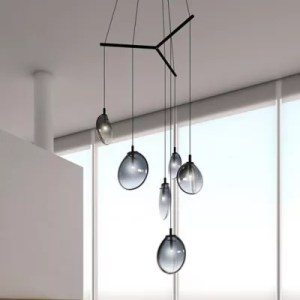 Ceiling Lights   Modern   Contemporary Ceiling Fixtures at Lumens com Multi Light Pendants