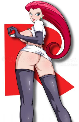 team rocket jessie naked