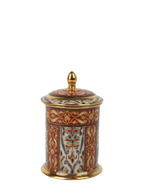 15 x 14 x 14 cm Villeroy /& Boch Christmas Toys Tea Light Holder in Hard Porcelain Wax Multi-Coloured