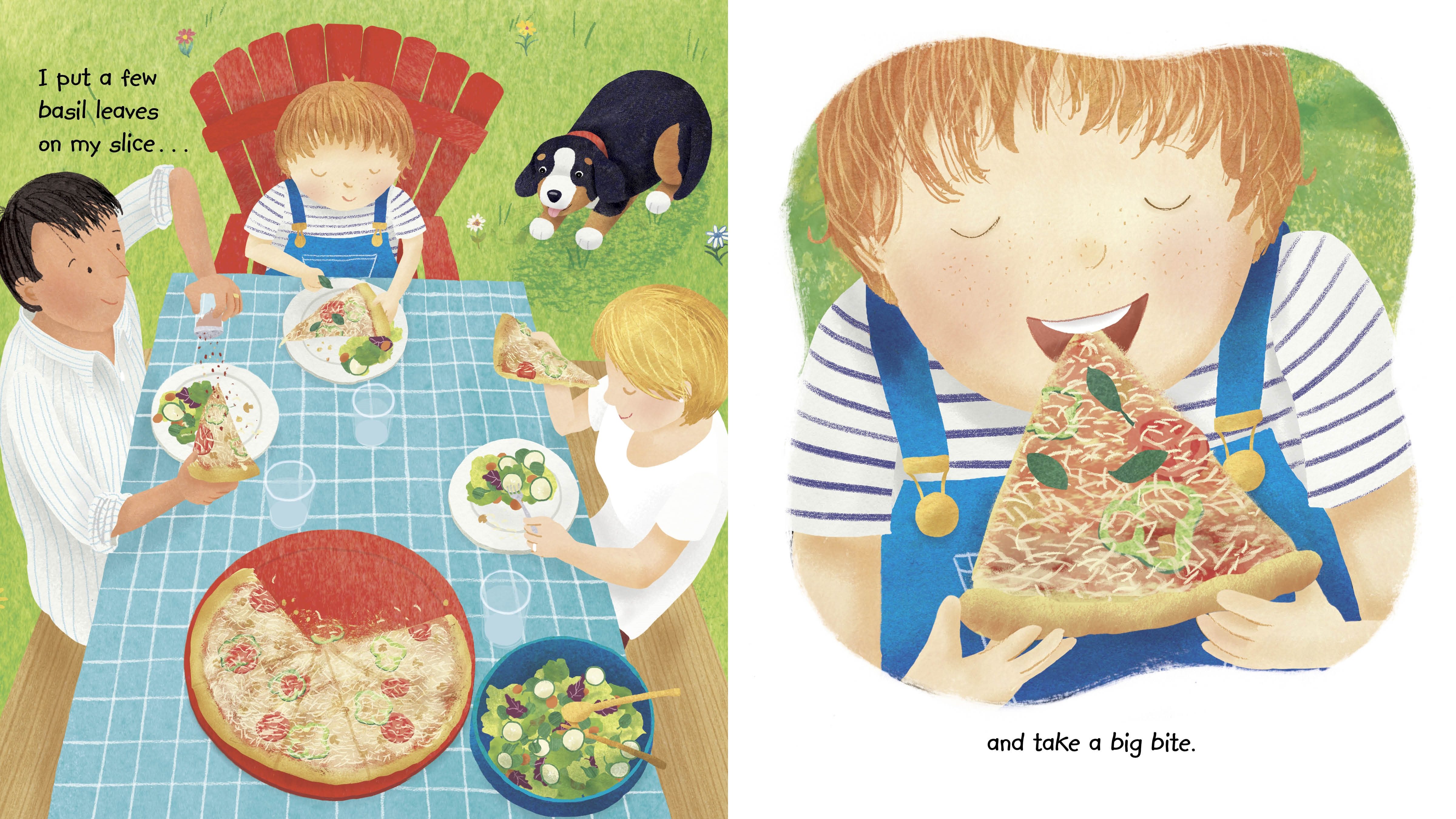 Pizza Day A Picture Book
