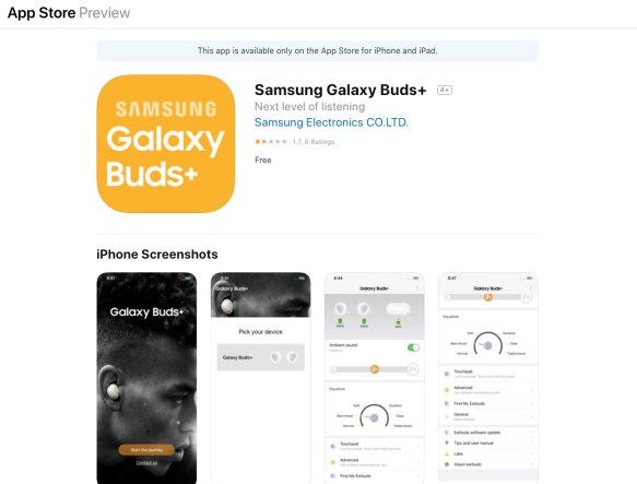Image result for Buds+ app store
