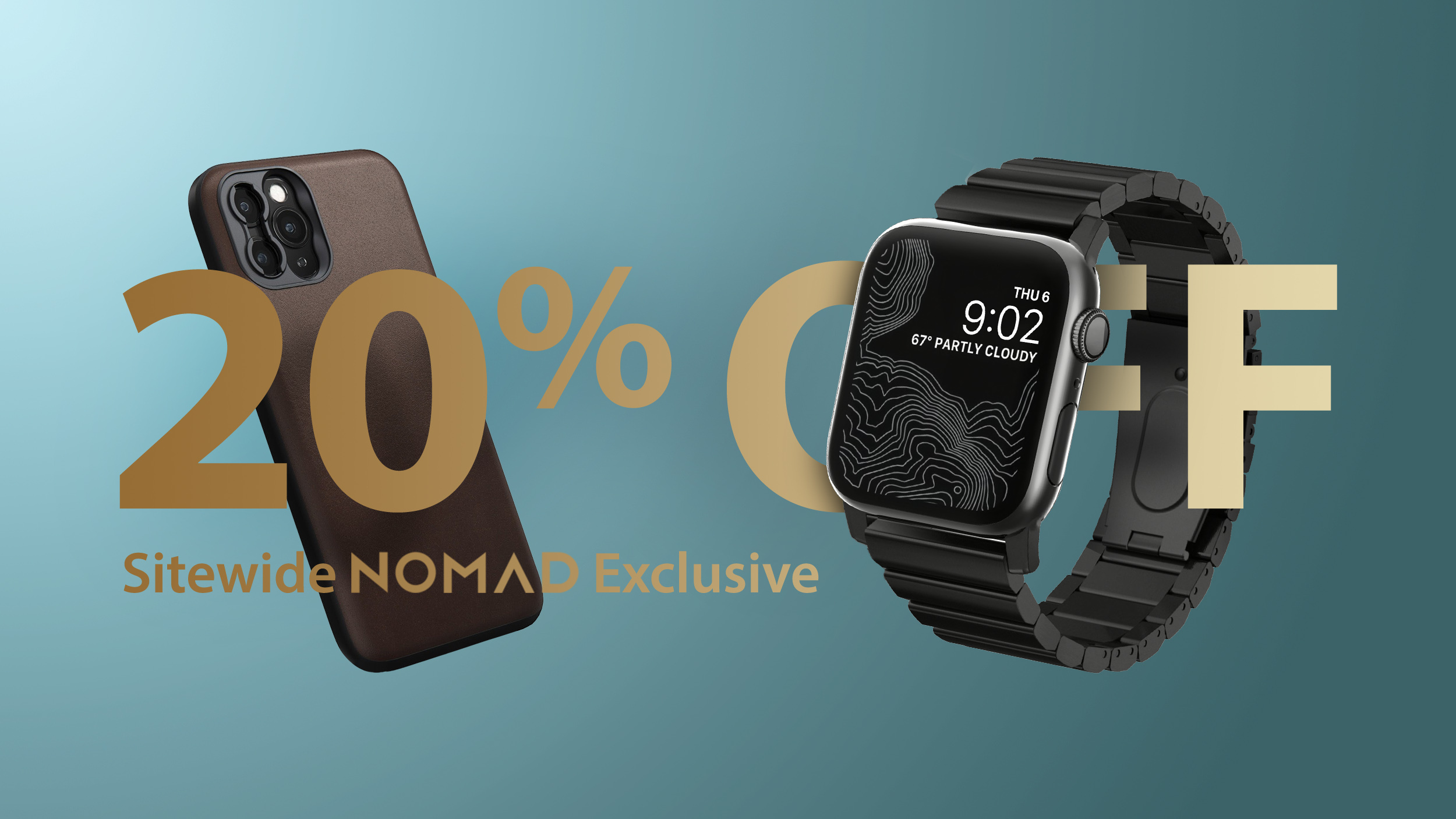 Exclusive Deals: Take 20% Off Sitewide at Nomad This Week