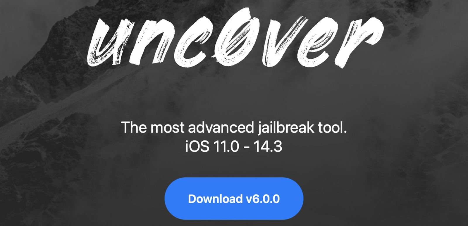 Jailbreak tool 'unc0ver' 6.0.0 released with iOS 14.3 compatibility