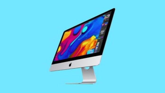 iMac Blue Isolated
