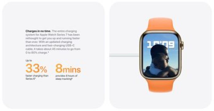 apple watch series 7 fast charge