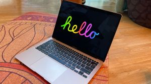 Apple adds a new 'Hello' screen saver to macOS Big Sur 11.3