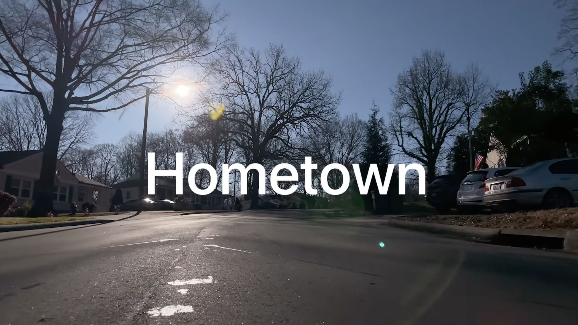 "Apple shares a new ""hometown"" recorded on iPhone Video"