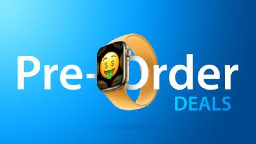 Apple Watch 7 Pre order deals 2