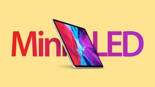 iPad Pro Mini LED