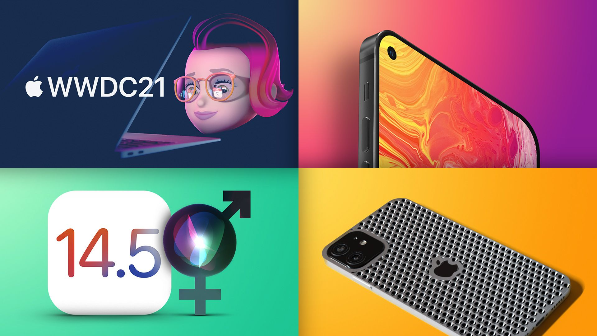 Top Stories: WWDC 2021 Announced, iPhone SE Rumors, 'Cheese Grater' iPhone Design?