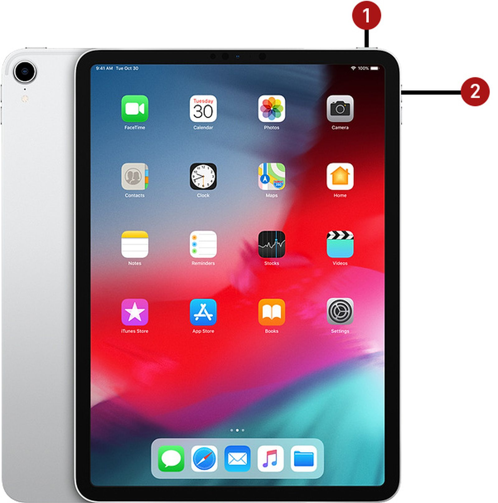 2018 ipad pro how to hard reset or