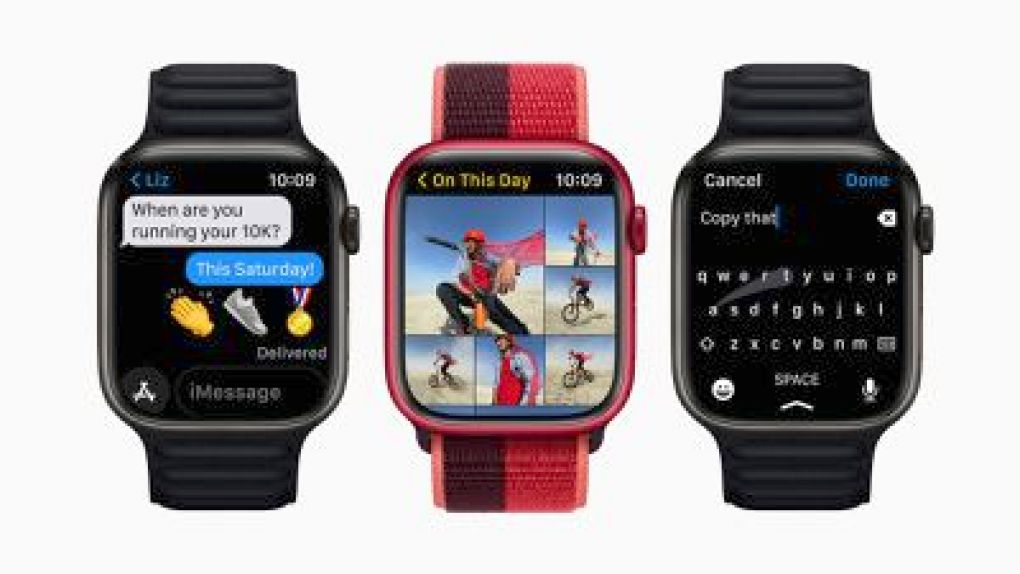 apple watch series 7 larger display area