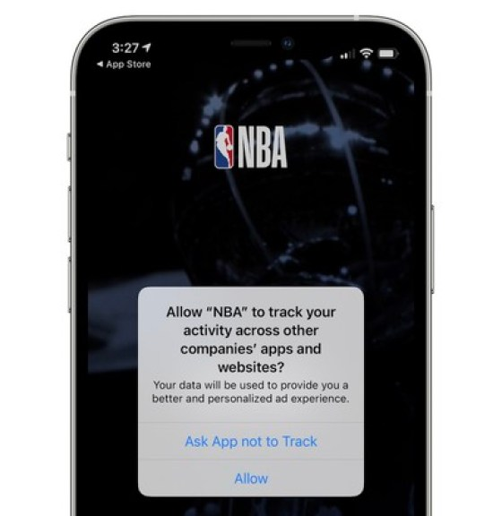 transparency monitoring app promotes ios 14