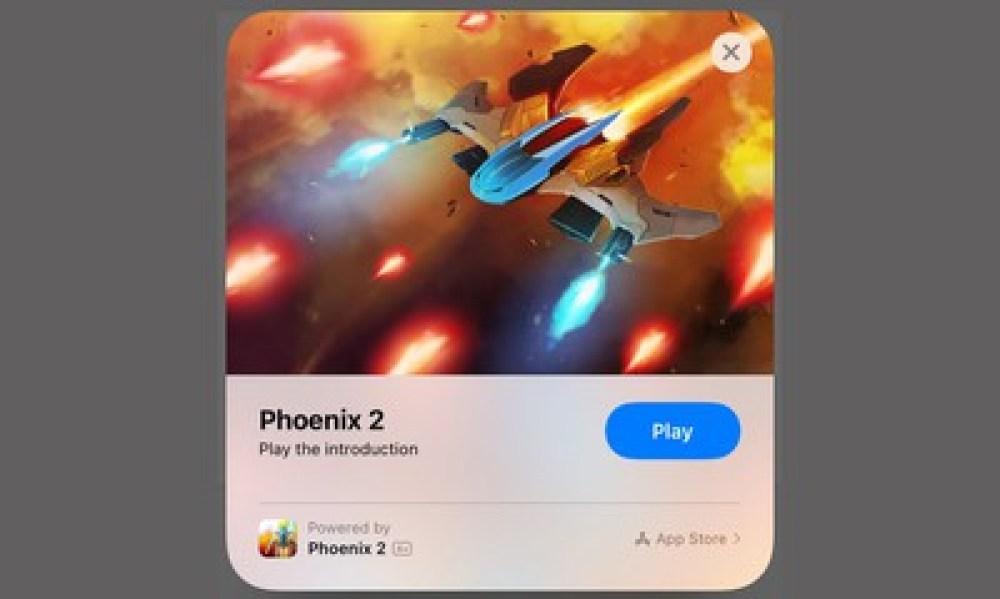 app clip game