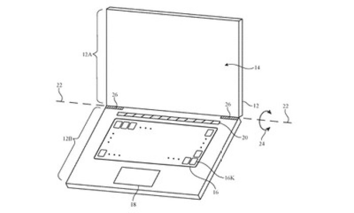 adaptive keyboard patent laptop