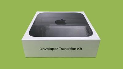 mac mini developer transition kit photo function