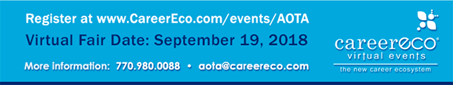 Register at www.careereco.com/events.aota