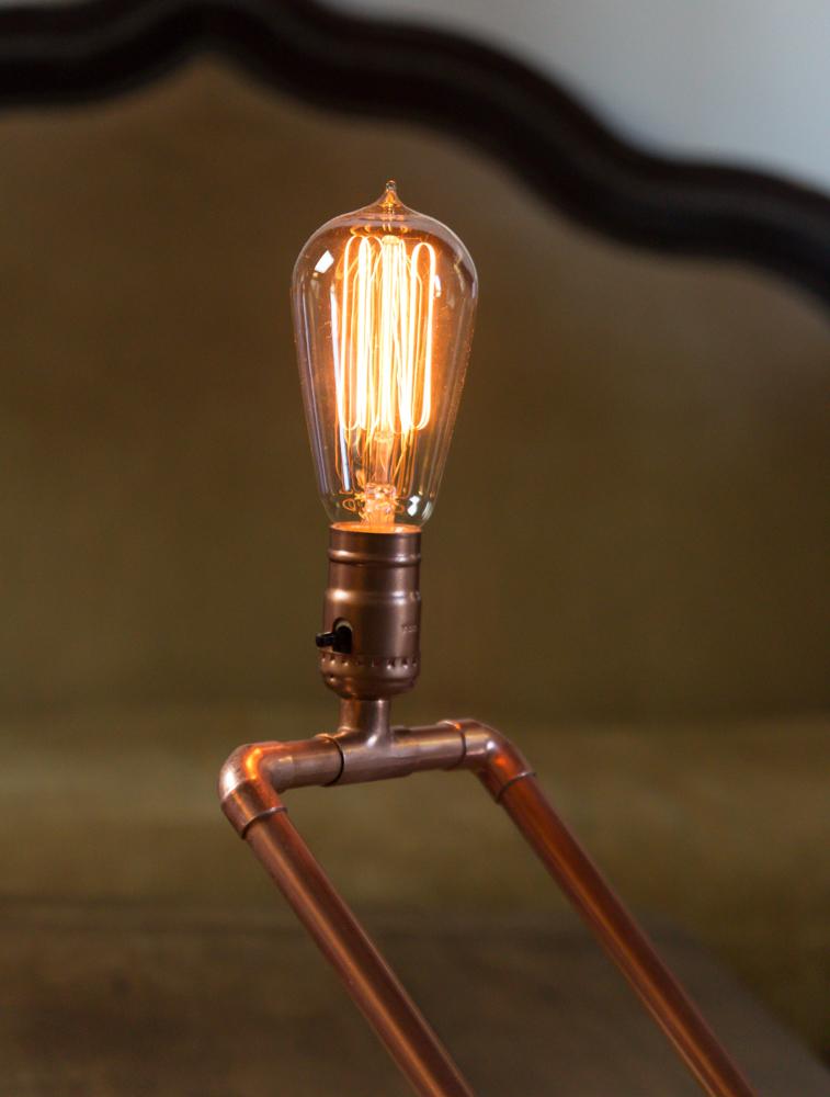 Cara Buat Lampu Hias Unik dari Pipa Tembaga