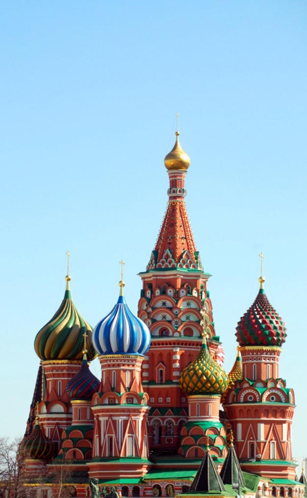 Saint Basil S Cathedral Moscow Russia Map Facts