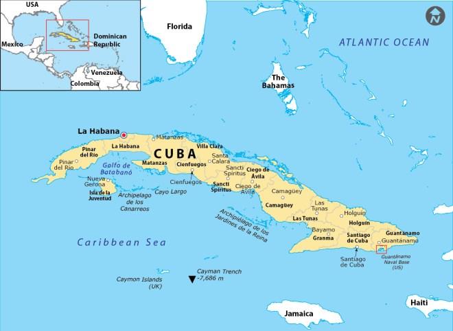 Guantanamo Bay Cuba Map Where Is Guantanamo Bay Located?   Answers